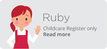 Rutland Early Years Ruby Package - Childcare Register only